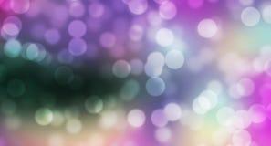 Färgrik mystikerbokehbakgrund Arkivbild