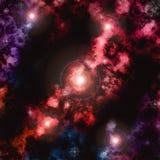 Färgrik nebulosa Royaltyfri Illustrationer