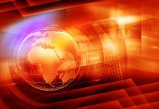 Färgrik nyheternabakgrund vektor illustrationer