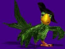 färgrik papegoja Arkivfoto