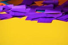 Färgrik paper bakgrund Arkivfoto