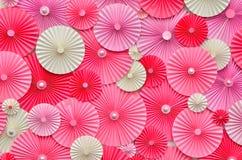Färgrik paper bakgrund Fotografering för Bildbyråer