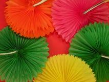 färgrik paper textur Arkivfoto