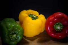 Färgrik paprika Arkivfoto