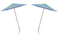 Färgrik paraplydesign Fotografering för Bildbyråer