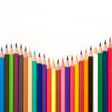 färgrik pastell Royaltyfri Fotografi