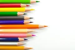Färgrik pastell arkivbild