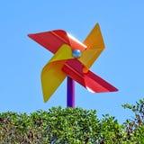 färgrik pinwheel Royaltyfri Bild