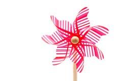 färgrik pinwheel Arkivfoto