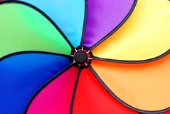 färgrik pinwheel royaltyfri foto