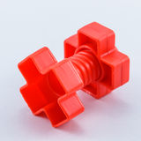 färgrik plastic toy Arkivbilder