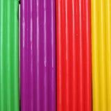 färgrik plasticine för bakgrund Arkivfoto