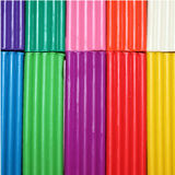 färgrik plasticine för bakgrund Arkivbilder