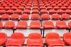 färgrik platsstadion Royaltyfri Fotografi