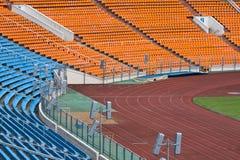 färgrik platsstadion Arkivbilder