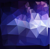 Färgrik polygonal bakgrund Royaltyfria Bilder
