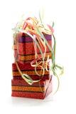 färgrik present för födelsedag Royaltyfri Fotografi