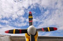 Färgrik propeller Arkivbild