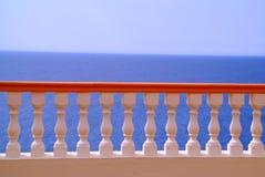 färgrik räcke Royaltyfri Fotografi