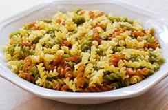 Färgrik rå pasta Royaltyfri Fotografi