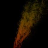 färgrik röd rök Arkivbild