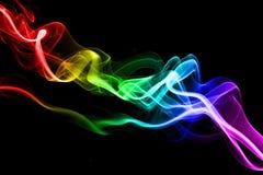 färgrik rök Royaltyfria Foton