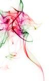 färgrik rök Arkivfoto