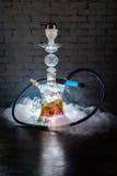 Färgrik röka vattenpipa Royaltyfria Foton
