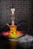 Färgrik röka vattenpipa Arkivfoton