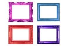 färgrik rambild Fotografering för Bildbyråer