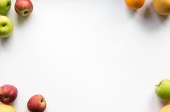 färgrik ramfrukt Arkivfoton