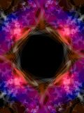 färgrik ramströmstjärna Arkivbild