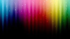 Färgrik randig bakgrund Royaltyfri Foto