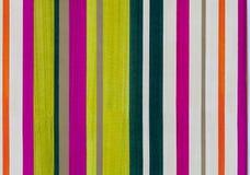 Färgrik randig pappers- modell arkivbilder