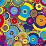 färgrik regnbåge för bakgrundscirkel också vektor för coreldrawillustration royaltyfri illustrationer