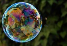 färgrik regnbåge ii för bubbla Royaltyfri Fotografi