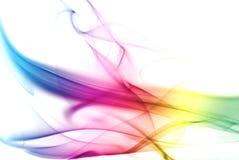 färgrik regnbågerök Fotografering för Bildbyråer