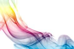färgrik regnbågerök Royaltyfri Foto