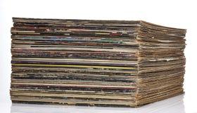 Färgrik rekord- samling Royaltyfria Foton