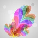 Färgrik ren bakgrund för vektor Royaltyfria Foton