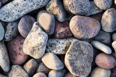 färgrik rock Royaltyfri Bild