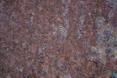 Färgrik rost och korrosion Arkivfoton