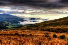 Färgrik rucuPichincha vulkan, Ecuador Royaltyfria Bilder