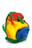 Färgrik ryggsäck Arkivfoto