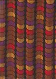 Färgrik sömlös modell med cirklar Arkivbild
