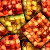 Färgrik sömlös texturerad bakgrund Royaltyfria Foton