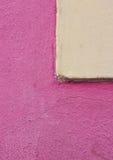 Färgrik sammansättning med väggen Arkivbilder