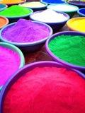 färgrik sand Royaltyfri Fotografi