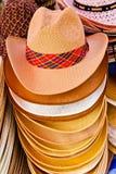 färgrik sell för cowboyhatt royaltyfri fotografi
