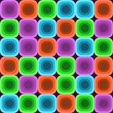 Färgrik Seventiesbakgrund vektor illustrationer